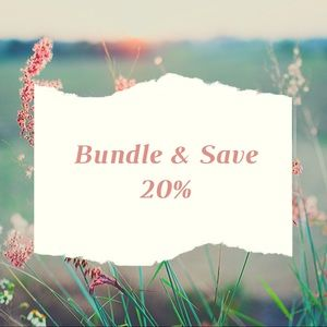 Bundle 3 or more and Save!